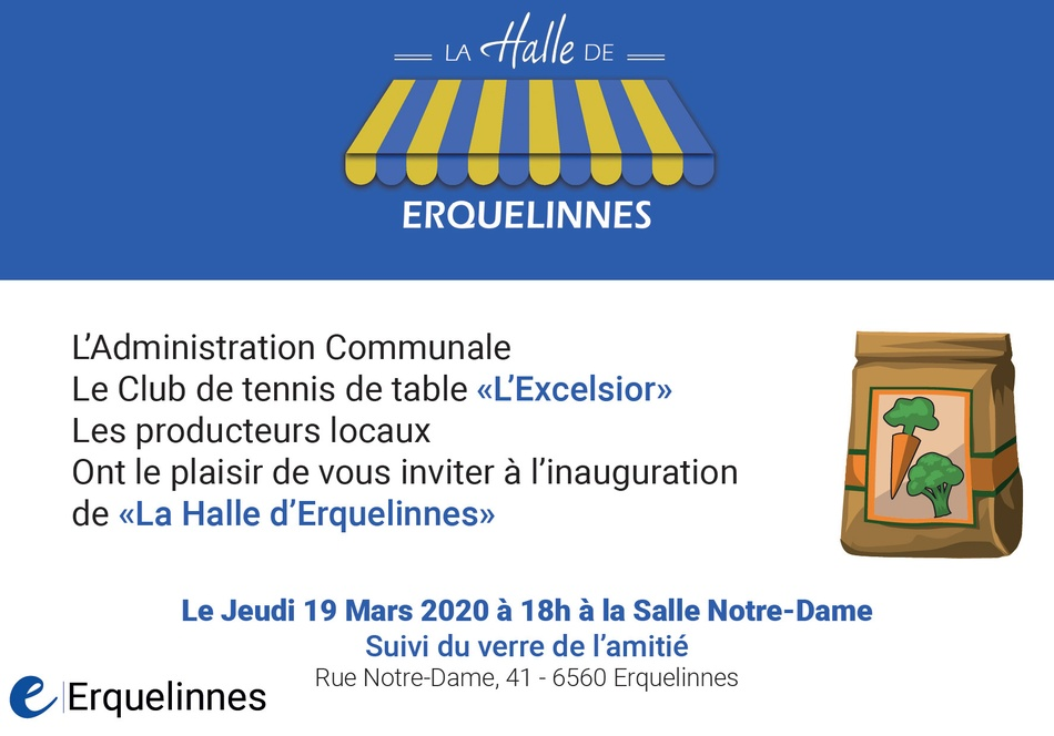 invitation commun'halle