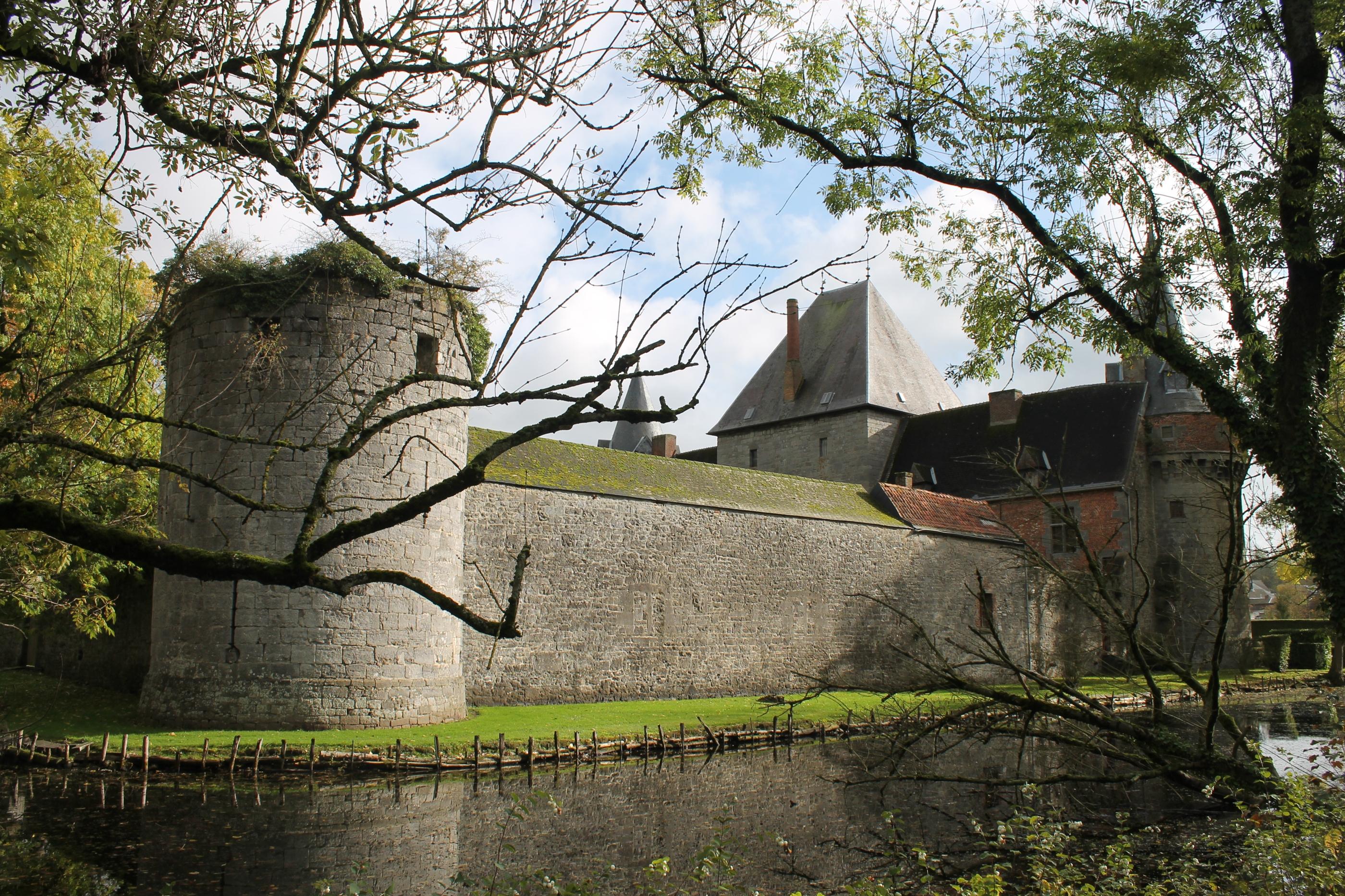 arrière château
