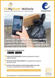 """Environnement  """"FixMystreet Wallonie"""" : Améliorez l'espace public de votre commune en quelques clics"""