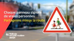 AWSR : Chaque panneau signale de vraies personnes, partageons mieux la route