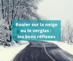 AWSR - Rouler sur la neige ou le verglas : les bons réflexes