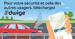 Edwige, la nouvelle app pour votre mobilité sur les routes wallonnes