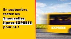 TEC : Nouvelle ligne Express E110 Beaumont-Mons