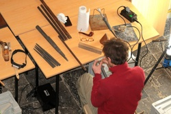 Maintenance et découverte sur l'orgue de l'église de Hantes-Wihéries