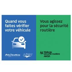 AWSR - Vérifier l'état de son véhicule, c'est agir pour la sécurité routière